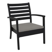 Artemis XL Outdoor Club Chair Black - Taupe