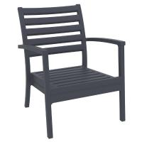 Artemis XL Outdoor Club Chair Dark Gray