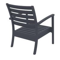 Artemis XL Outdoor Club Chair Dark Gray ISP004-DGR - 3