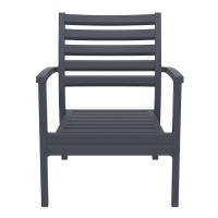 Artemis XL Outdoor Club Chair Dark Gray ISP004-DGR - 4