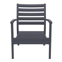 Artemis XL Outdoor Club Chair Dark Gray - Taupe ISP004-DGR-CTA - 3