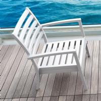 Artemis XL Outdoor Club Chair White ISP004-WHI - 6
