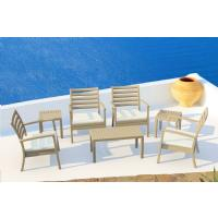 Artemis XL Outdoor Club Chair White ISP004-WHI - 19