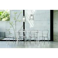 Bo Polycarbonate Dining Chair Transparent Clear ISP005-TCL - 8