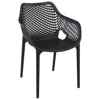 Air XL Resin Outdoor Arm Chair Black
