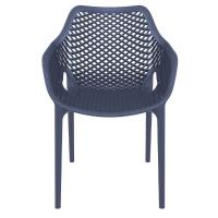 Air XL Resin Outdoor Arm Chair Dark Gray ISP007-DGR - 2