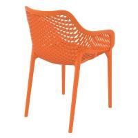 Air XL Resin Outdoor Arm Chair Orange ISP007-ORA - 1