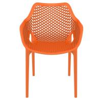 Air XL Resin Outdoor Arm Chair Orange ISP007-ORA - 2