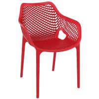 Air XL Resin Outdoor Arm Chair Red