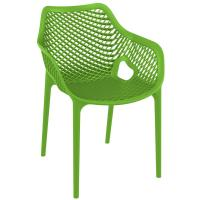 Air XL Resin Dining Arm Chair Tropical Green