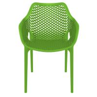 Air XL Resin Dining Arm Chair Tropical Green ISP007-TRG - 2