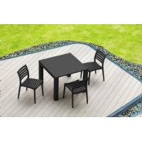 Ares Resin Outdoor Dining Chair Cafe Latte ISP009-TEA - 10