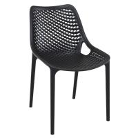 Air Outdoor Dining Chair Black