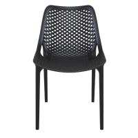 Air Outdoor Dining Chair Black ISP014-BLA - 4