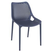 Air Outdoor Dining Chair Dark Gray ISP014-DGR