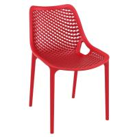 Air Outdoor Dining Chair Red