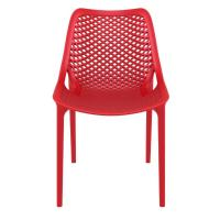 Air Outdoor Dining Chair Red ISP014-RED - 3