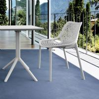 Air Outdoor Dining Chair White ISP014-WHI - 1