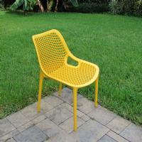 Air Outdoor Dining Chair Yellow ISP014-YEL - 7