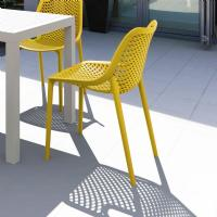 Air Outdoor Dining Chair Yellow ISP014-YEL - 8