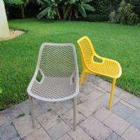 Air Outdoor Dining Chair Black ISP014-BLA - 13