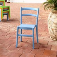 Tiffany Cafe Dining Chair Blue ISP018-LBL - 5