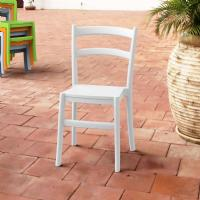 Tiffany Cafe Dining Chair White ISP018-WHI - 5