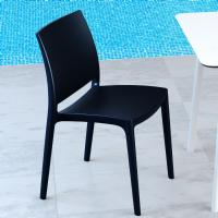 Maya Dining Chair Black ISP025-BLA - 1