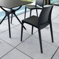 Maya Dining Chair Black ISP025-BLA - 2
