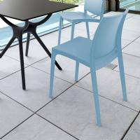 Maya Dining Chair Blue ISP025-LBL - 4