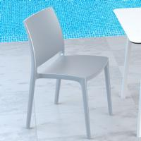 Maya Dining Chair Silver ISP025-SIL - 1