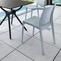 Maya Dining Chair Silver ISP025-SIL - 2