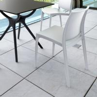Maya Dining Chair Silver ISP025-SIL - 28