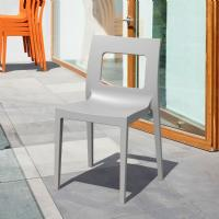 Lucca Dining Chair Silver ISP026-SIL - 2