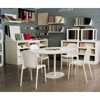 Victoria Polycarbonate Modern Dining Chair Transparent Gray ISP033-TGRY - 7