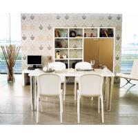 Victoria Polycarbonate Modern Dining Chair White ISP033-GWHI - 14