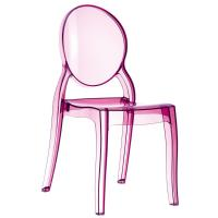Elizabeth Polycarbonate Dining Chair Pink ISP034-TPNK