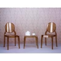 Elizabeth Polycarbonate Dining Chair Glossy Black ISP034-GBLA - 12