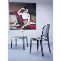Elizabeth Polycarbonate Dining Chair Glossy Black ISP034-GBLA - 14