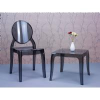 Elizabeth Polycarbonate Dining Chair Glossy Black ISP034-GBLA - 15