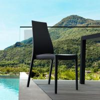 Miranda High-Back Dining Chair Black ISP039-BLA - 5