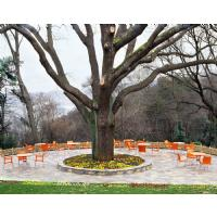 Dolce Resin Outdoor Armchair Orange ISP047-ORA - 8