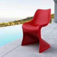 Bloom Modern Dining Chair Red ISP048-RED - 5