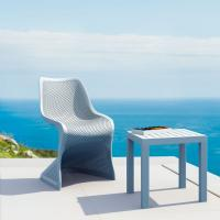 Bloom Modern Dining Chair Silver Gray ISP048-SIL - 6
