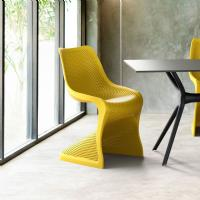 Bloom Contemporary Dining Chair Yellow ISP048-YEL - 7