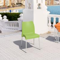 Vita Resin Outdoor Dining Chair Apple Green ISP049-APP - 2