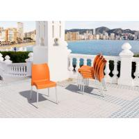 Vita Resin Outdoor Dining Chair Orange ISP049-ORA - 6
