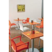 Vita Resin Outdoor Dining Chair Orange ISP049-ORA - 7