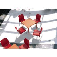 Vita Resin Outdoor Dining Chair Orange ISP049-ORA - 8