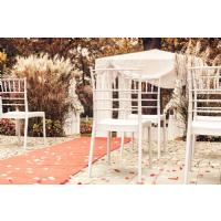 Josephine Wedding Chair White ISP050-WHI - 12